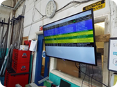 Production Control Software Status Board