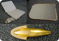 Manufactured aerospace parts